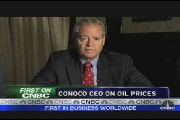 ConocoPhillips CEO on Gustav