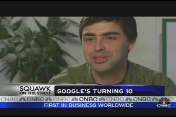 Google Turns 10