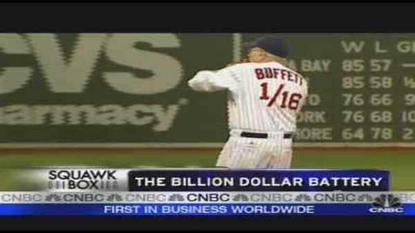 Buffett and the Sox