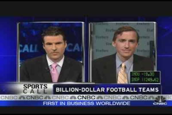 Billion Dollar Football Teams