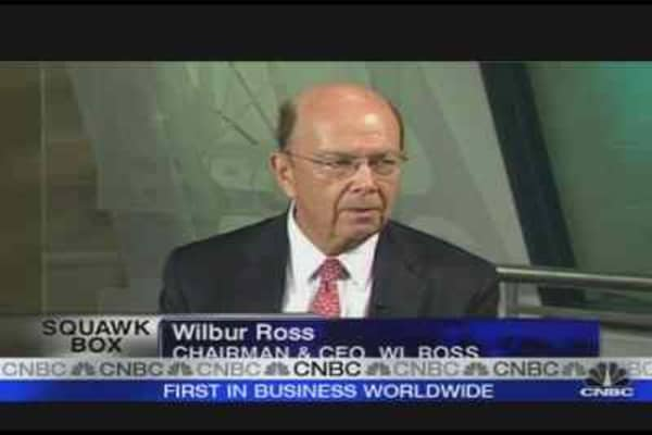 Ross: Sees Opportunities in US Financial Sector
