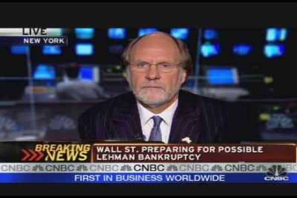 Corzine on Financial Performance