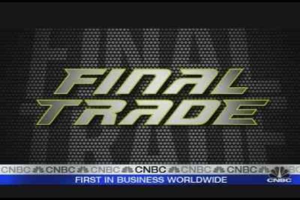 Fast Money Final Trades
