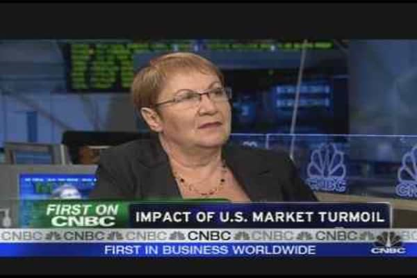 Impact of the U.S. Market Turmoil