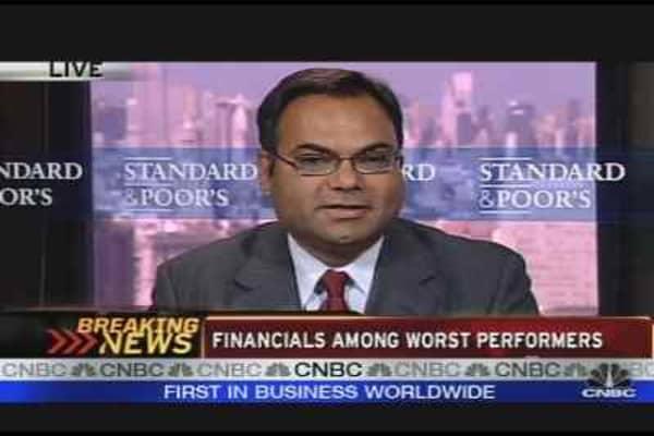 S&P Head on Downgrades