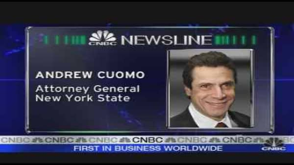 Cuomo On Short-Selling