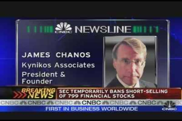 Chanos on New SEC Rules & Fed's Loan