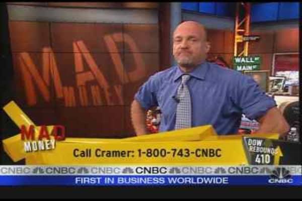 Cramer on Market Confidence