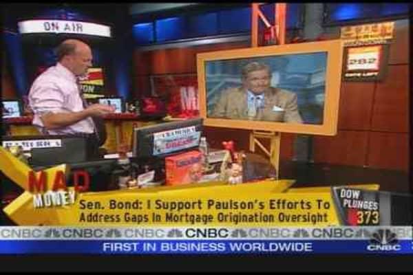 Cramer on Paulson's Plan