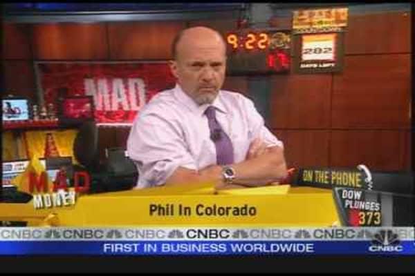 Cramer Says Keep Sellin'