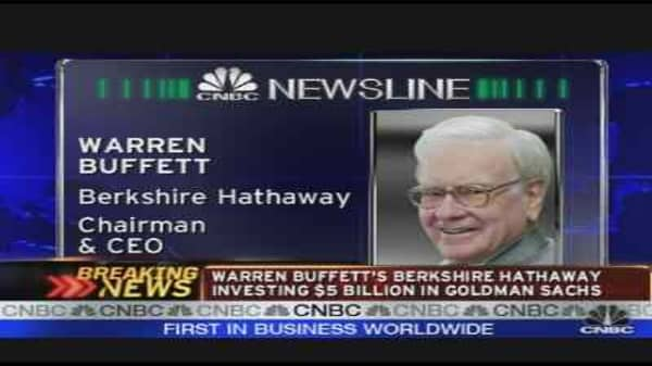 Buffett's $5B Investment in Goldman