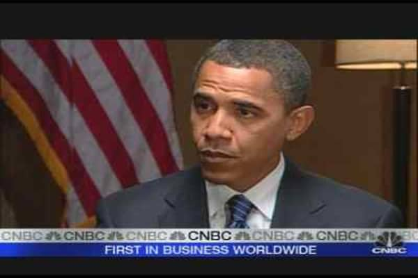 Obama on the Financial Crisis