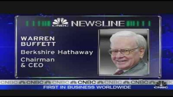Buffett's $5B Bet