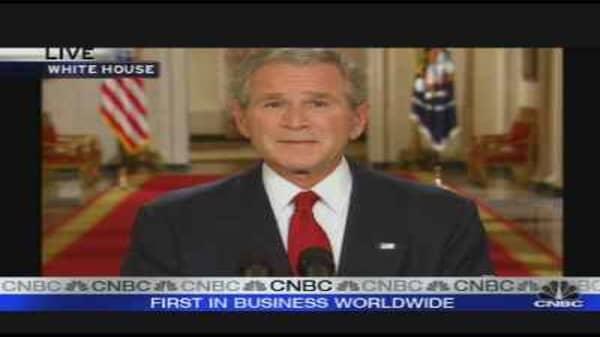 Bush Addresses Nation