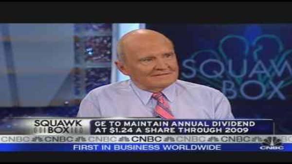 Jack Welch on the Wall St. Crisis