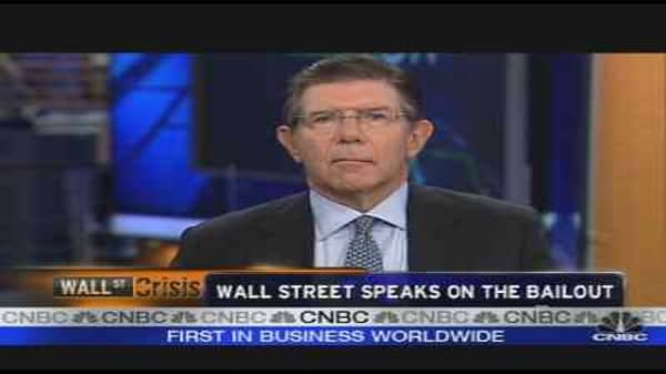 Wall Street Speaks on the Bailout