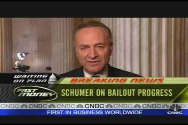 Schumer On Bailout