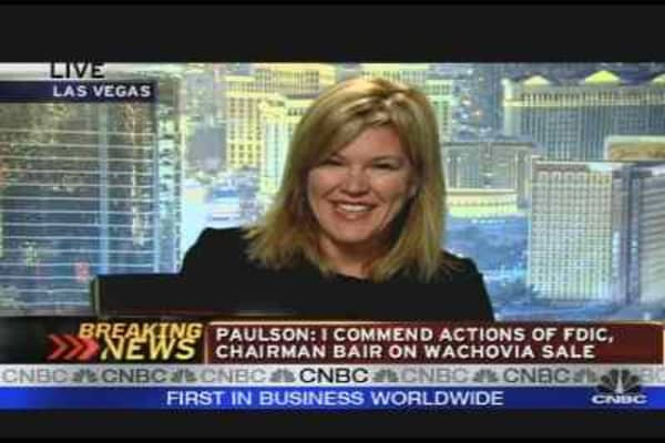 Meredith Whitney on Banks, Bailout