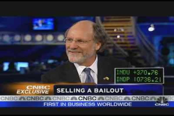 Gov. Corzine on the Bailout