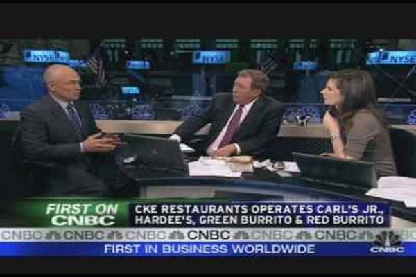 CKE CEO on the Consumer