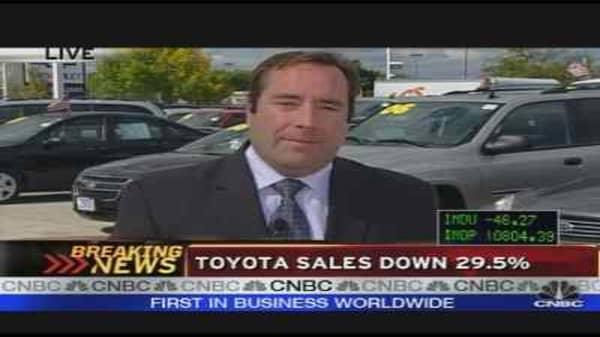 GM Sales Down
