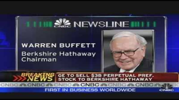 Buffett on GE & the Bailout