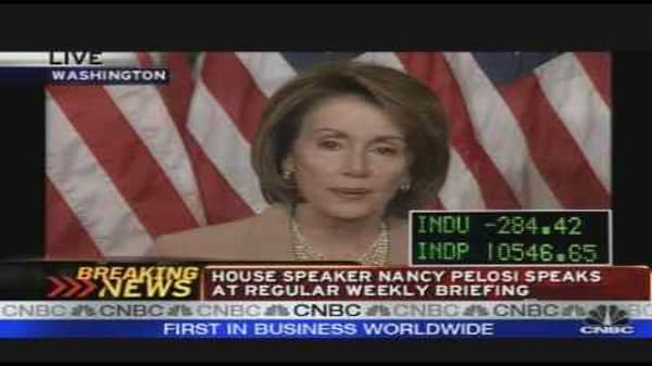 Pelosi on the Bailout