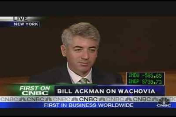 Ackman On Wachovia