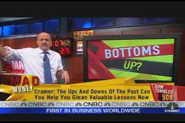 Cramer: Bottoms Up?