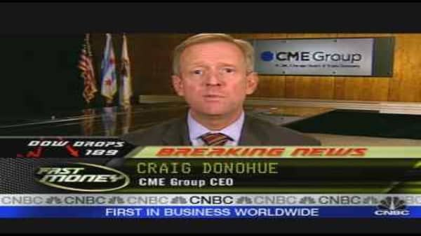CME Boss On Credit