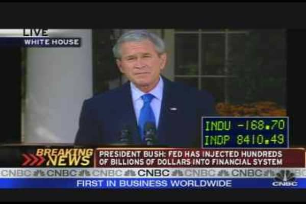 Bush on Credit Crisis