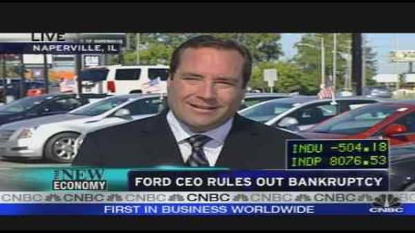 Ford Focused On Cash