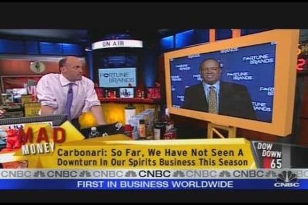 Cramer on Fortune Brands