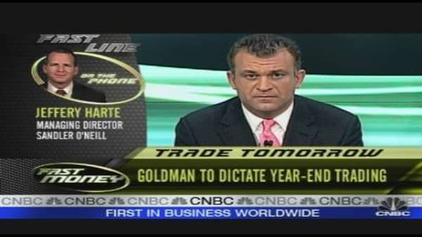 Trade Tomorrow: Goldman's Earnings