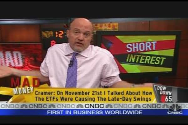 Cramer on Shorts