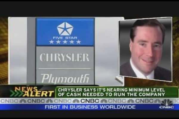 Chrysler Extends Shutdown