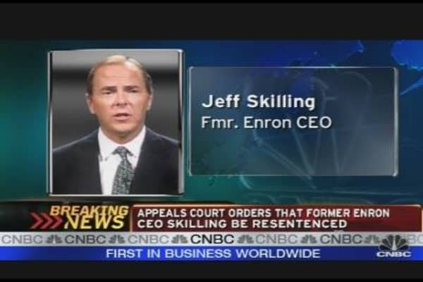 Enron CEO to be Resentenced