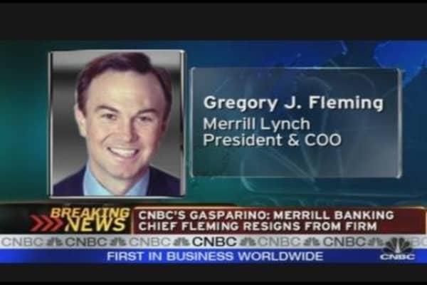 Merrill's Fleming Resigns