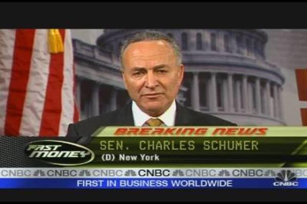 Schumer on Citi Mortgage Deal