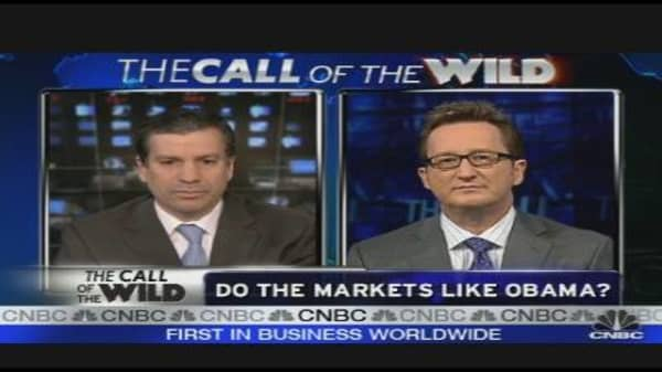 Markets Like Obama?