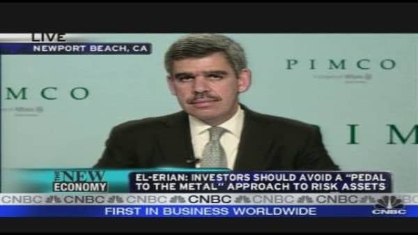 Pimco's El Erian on the Markets