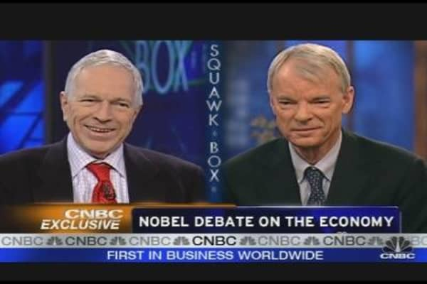 Nobel Debate on the Economy