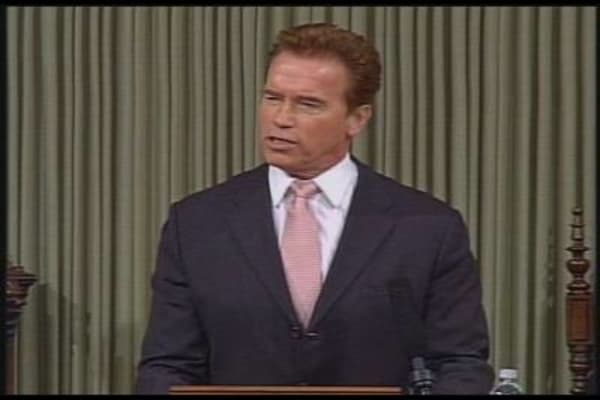 Schwarzenegger on CA