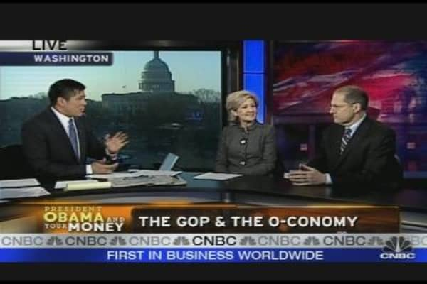 The GOP & the O-Conomy
