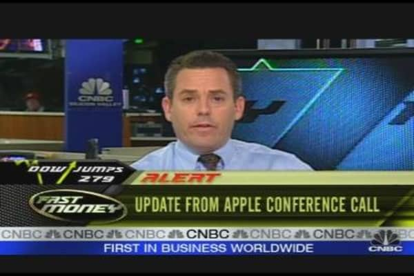 Apple Conference Call
