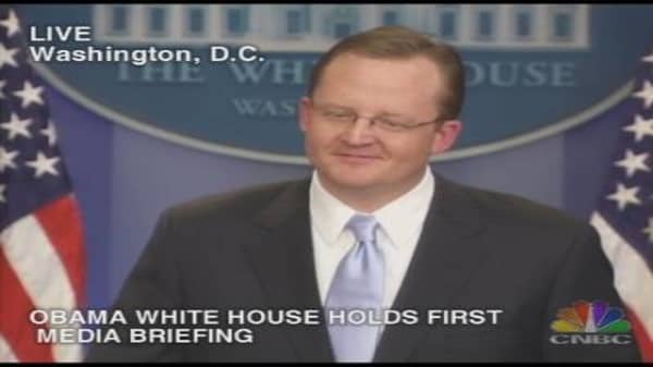 White House Briefing, Pt. 2