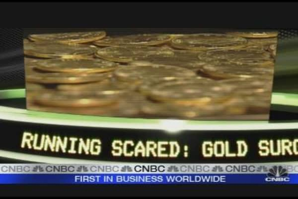 Gold Surges