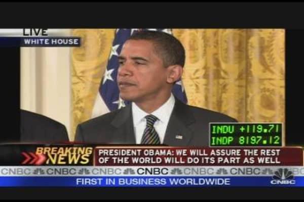 President Obama on the Economy