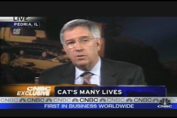 CAT CEO Talks Earnings