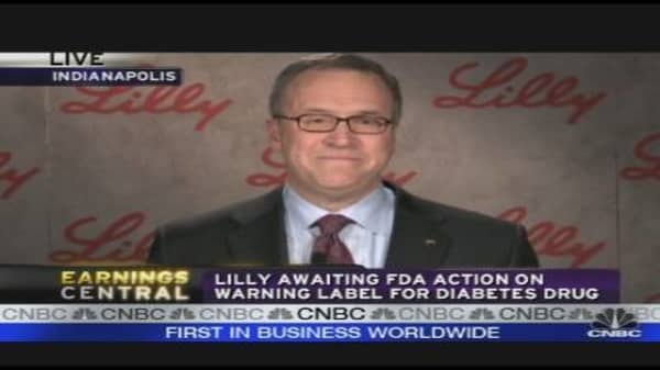 Eli Lilly CEO on Earnings